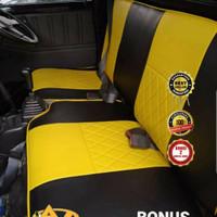 sarung jok mobil Carry Futur Mega Carry Grand Max - Pik Up - Sporty Deluxe
