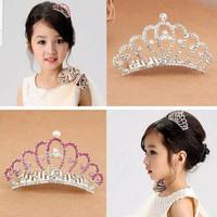 Mahkota Tiara Pesta Anak Princess Crown Aksesoris Rambut Anak