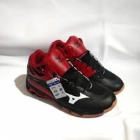 sepatu olah raga mizuno wlz mid sepatu lari pria - Merah, 39