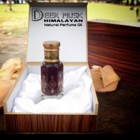 12ML Deer Musk Himalayan Parfume Oil (parfum minyak kasturi kijang)