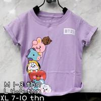 girl tshirt BTS21 baju anak kartun lucu bayi balita anak TK anak SD