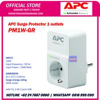APC SURGE PROTECTOR PM1W-GR COLOKAN ANTI PETIR