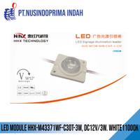 LED MODULE HHX-M43371WF-C30T-3W, DC12V/3W. WHITE11000K