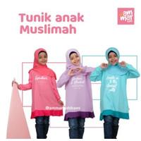 Tunik Anak Cewek Islam Baju Ngaji 3 - 12 Tahun Perempuan AmmarKids