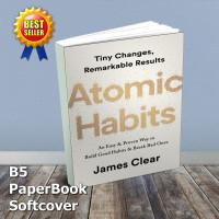 Buku Atomic Habit B5 PaperBook Soft| Buku Motivasi