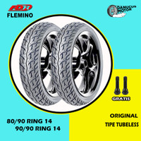 Paket Ban Motor Matic // FDR FLEMINO 80/90 - 90/90 Ring 14 Tubeless