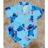 piyama anak motif lilo stitch