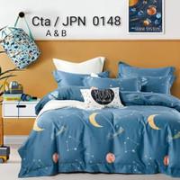 Bad bed Cover Set Katun Jepang Anak Motif Baby Animal Karakter