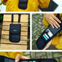 Tas Selempang Pria Untuk HP Sling Phone Wallet Dompet Gantung Type A /