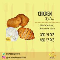 chicken katsu frozen non msg - 7pcs