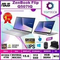 ASUS ZenBook Flip 15 Q507IQ TOUCH Ryzen 7 4700U 8GB 512SSD MX350 15.6