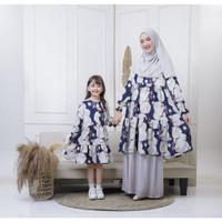 Baju Couple Firdha Ibu Anak Maxkenzo Baju Dewasa Tunik Berkualitas
