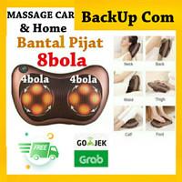 Bantal Pijat 8 Bola /Bantal Refleksi/Massage Pillow/ Car Massage Mobil
