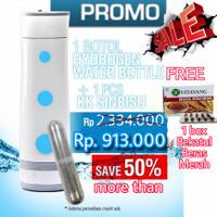 KK Hydrogen Water Bottle Sinbisu Paket Hemat Air Sehat Antioksidan