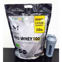 Muscle First Pro Whey 100 10 lbs 4535 gram Combat MP Musclepharm Pharm
