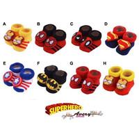 Kaos Kaki Bayi Boneka Avery Street Newborn 0-6 Bulan SuperHero Edition
