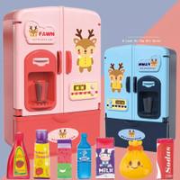 Mainan Anak Kulkas Mini Kitchen Set Masak Masakan