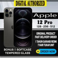 iPhone 12 Pro 128GB 256GB 512GB Dual Nano Sim Garansi Resmi (IBOX)