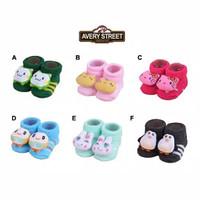 Kaos Kaki Bayi Boneka Avery Street (Newborn) 0-6 Bulan Kawaii Edition