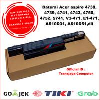Baterai Battery Acer Aspire 4253 4352 4353 4551 4552 5741 5742 5743 - OEM