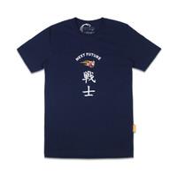 T-shirt - Bahan Katun - Thinkcookcook - Next Future - Biru Dongker