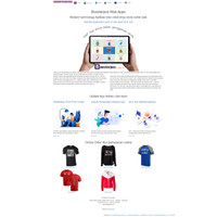 Aplikasi toko + website online shop order + APK android all in one