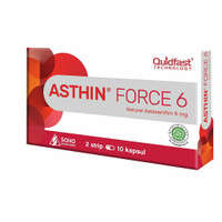 ASTHIN FORCE 6 MG 1 STR ( isi 10 )