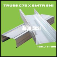 BAJA RINGAN KANAL C / C TRUSS / C75 SNI 0.75MM FULL