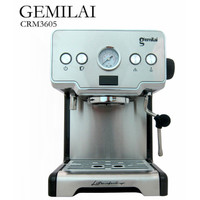 Espresso machine mesin kopi espresso CRM 3605 GEMILAI 15 Bar Powerful