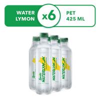 Sprite Waterlymon - Botol 425mL x 6pcs