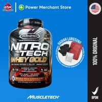 Nitrotech Nitro Tech Whey Gold 6lb - Chocolate