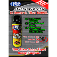CPARTS Anti Tikus Spray, Pengusir Tikus Kap Mobil, Rumah, dll 500 ML