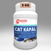 Cat Lunas Kapal -Marine Paint Antifouling Afatex Solvent Based - 5 kg