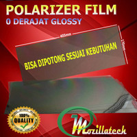 PLASTIK POLARIS POLARIZER LCD KACA HP MONITOR MOBIL POLARIZER SPEEDOME
