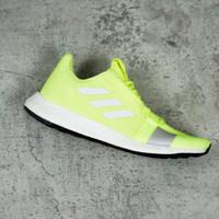 ORIGINAL Adidas SenseBoost White Lemon Putih Hijau Sepatu Pria BNIB
