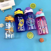 Botol Air Minum / Botol Minum Anak Lucu Motif Karakter Imut sedotan
