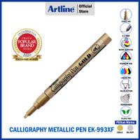 SPIDOL ARTLINE PERMANENT METALLIC CALLIGRAPHY PEN MARKER EK-993XF