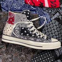 Converse 70s Hi Offspring Paisley Bandana Grey BNIB