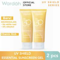 Wardah UV Shield Essential Sunscreen Gel SPF 30 Twin Pack