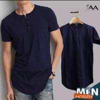 Kaos Pria Polos Jumbo Lengan Pendek Baju Cowok Sultan Premium Murah