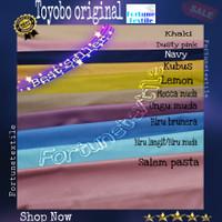 Katun toyobo original 100% Grade A bahan baju jubah gamis syari