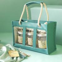 Paket Hampers Lebaran Tas Souvenir Parcel Cookies Cantik Mewah Kotak