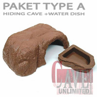 PAKET HIDING CAVE + WATER DISH MURAH MERIAH