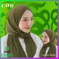pasmina plisket shawl pashmina non tali - Lavender