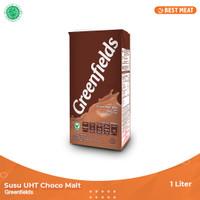 Susu Greenfields UHT Coklat 1000 ml (1liter)