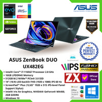 ASUS ZENBOOK DUO UX482EG i7-1165G7 16GB 512GB MX450 14 FHD TOUCH OHS