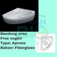 Bathtub Sudut Aprone