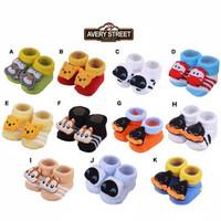 Kaos Kaki Bayi Boneka Avery Street (Newborn) 0-6 Bulan Pooh Edition