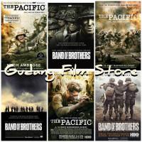 Koleksi Film Band Of Brothers & The Pacific HD Di Usb 32GB Bonus Otg