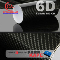 STICKER / STIKER CARBON FIBER 5D ( HIGH QUALITY )